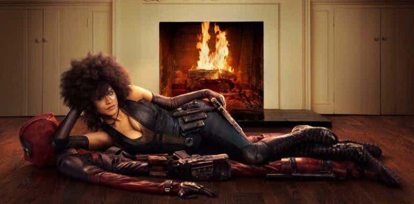 Una nueva imagen muestra más de cerca a Domino en Deadpool 2