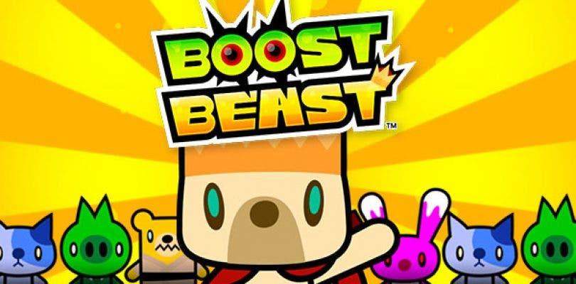 Anuncian el lanzamiento de Boost Beast para Nintendo Switch
