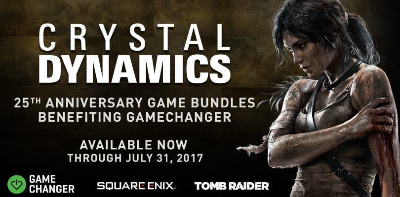 Crystal Dynamics celebra su 25 aniversario con un bundle benéfico