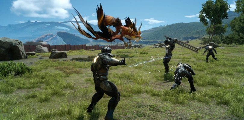 El modo de juego multijugador de Final Fantasy XV se hará independiente el mes que viene