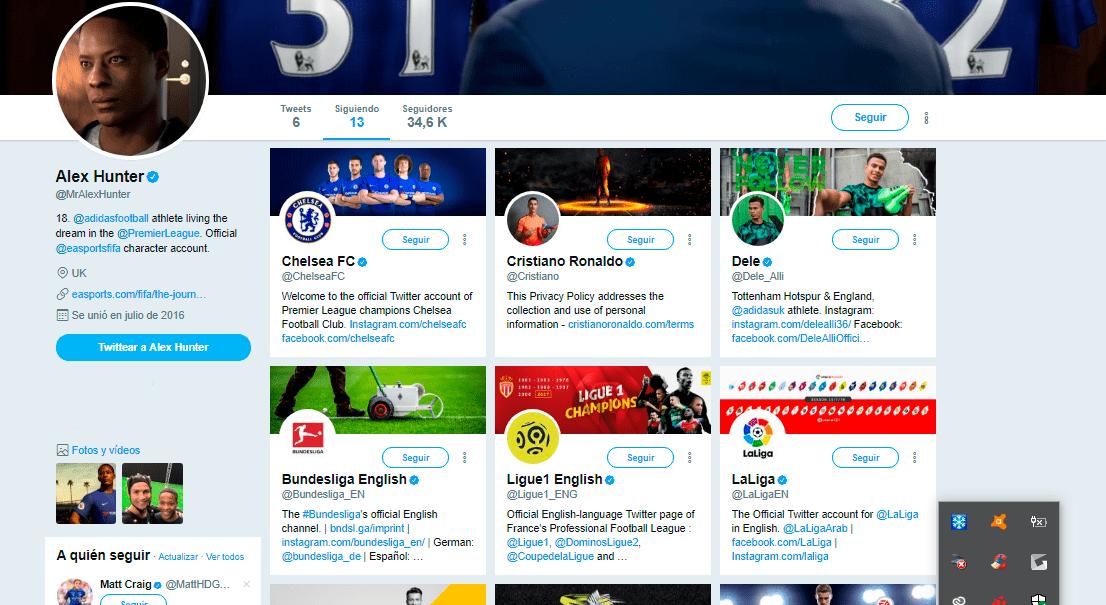 FIFA 18 Alex Hunter follows