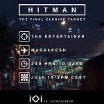 El último objetivo escurridizo de Hitman ya está disponible