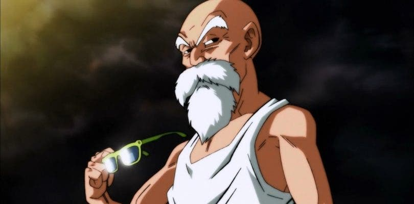 Llega la hora de Muten Roshi en Dragon Ball Super