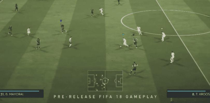 Primer gameplay completo de FIFA 18