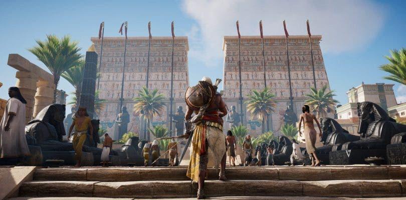 """Assassin's Creed Origins presenta el """"Juego de Poder"""" en Egipto"""