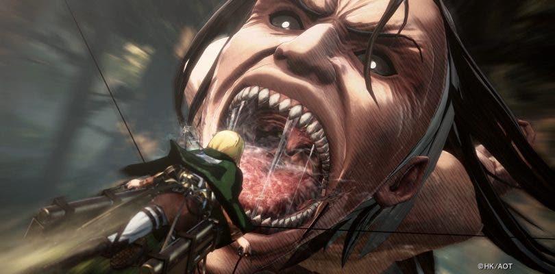 Koei Tecmo anuncia Attack on Titan 2 en Switch, PC y PS Vita