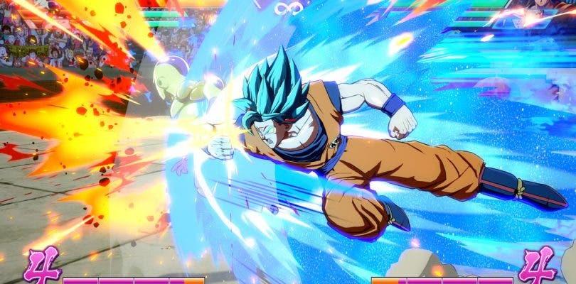 Dragon Ball FighterZ muestra capturas de Goku y Vegeta en SSB