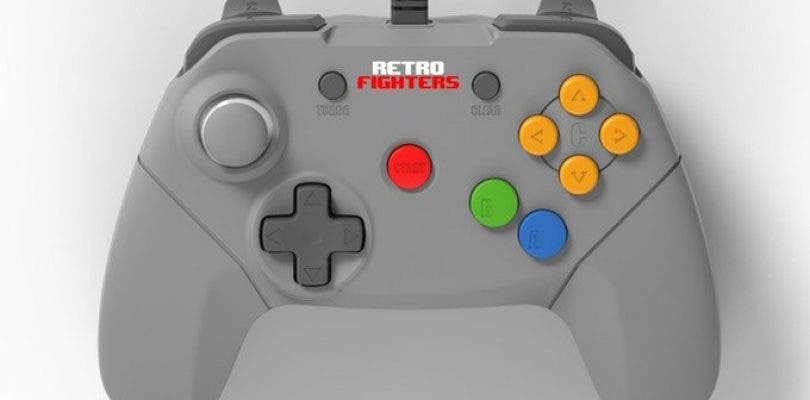 Un renovado mando para Nintendo 64 arrasa en Kickstarter