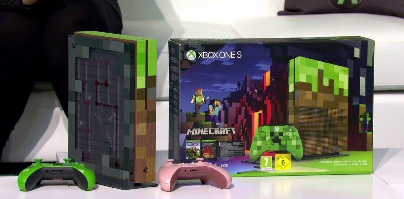 Confirmada la Minecraft Limited Edition de Xbox One S