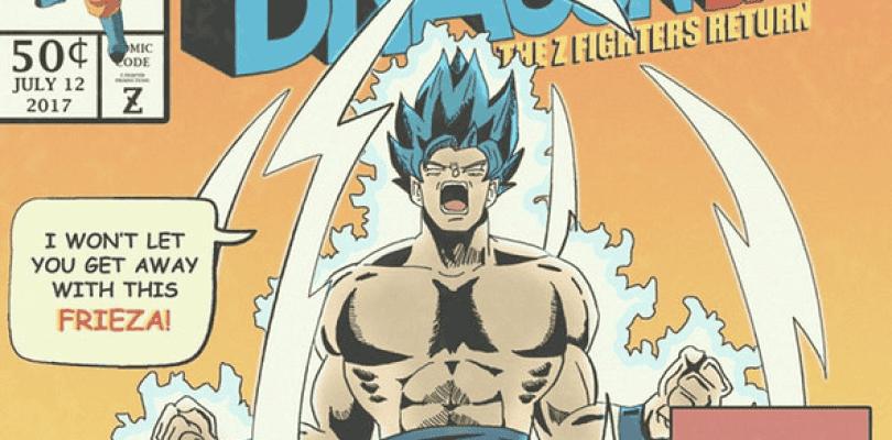 Un fan recrea cómics de Dragon Ball Super al estilo Marvel