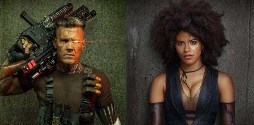 Cable y Domino se dejan ver en el set de rodaje de Deadpool 2