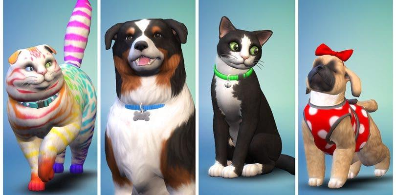 Así se crea un perro o un gato en la nueva expansión de Los Sims 4
