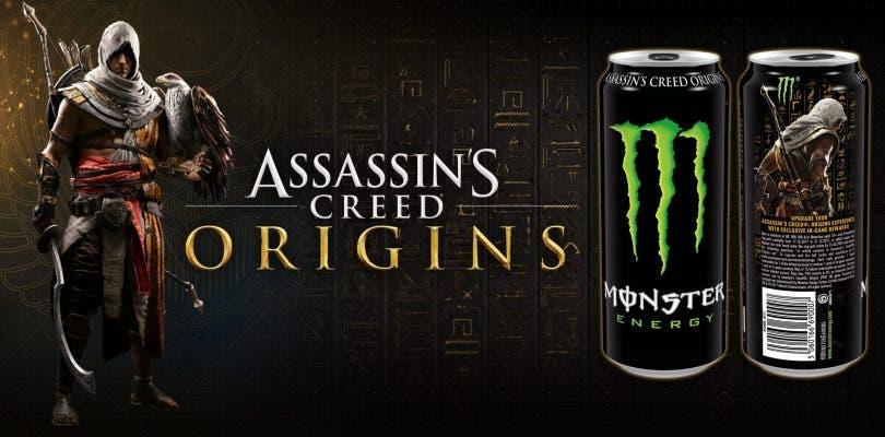Ubisoft alcanza un acuerdo con Monster Energy para promocionar Assassin's Creed Origins