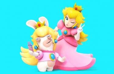 Conoce a Rabbid Peach en Mario + Rabbids Kingdom Battle