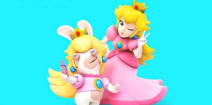 Conoce a Rabbid Peach en Mario + Rabbids Kingdom Battle