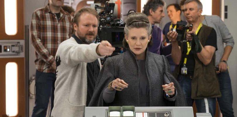El director Rian Johnson afirma que Leia no es una Jedi en Star Wars