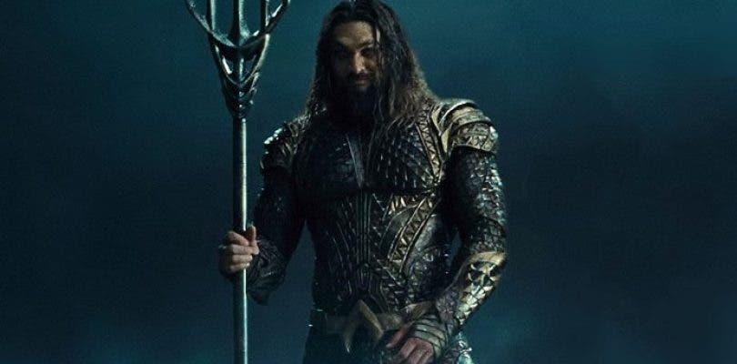 Una foto del rodaje de Aquaman muestra la armadura atlante