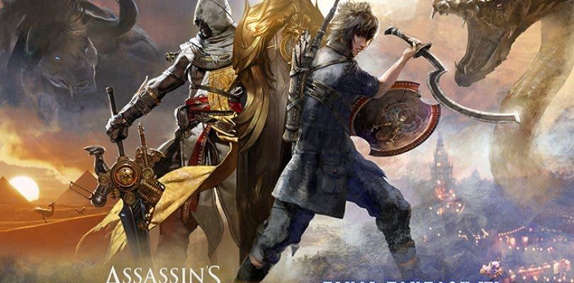 Ubisoft anuncia una colaboración entre Assassin's Creed Origins y FFXV