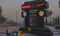 Un impresionante mod transforma Los Santos de GTA V en Londres
