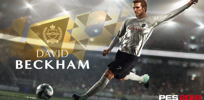 David Beckham es el nuevo Embajador Leyenda de PES