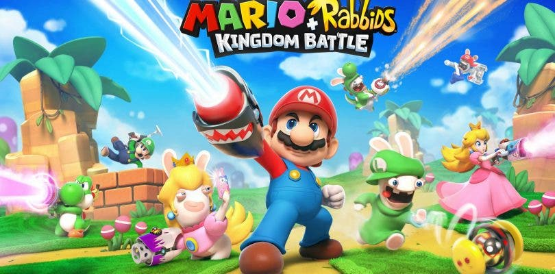 Ubisoft actuliza Mario + Rabbids Kingdom Battle