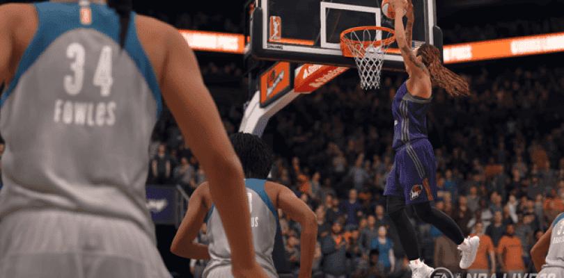 NBA LIVE 18 da la bienvenida a la WNBA