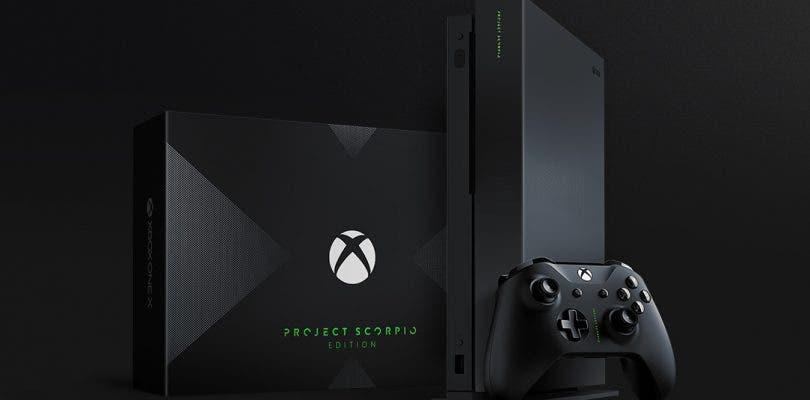 Anunciada la edición Project Scorpio de Xbox One X y primer unboxing