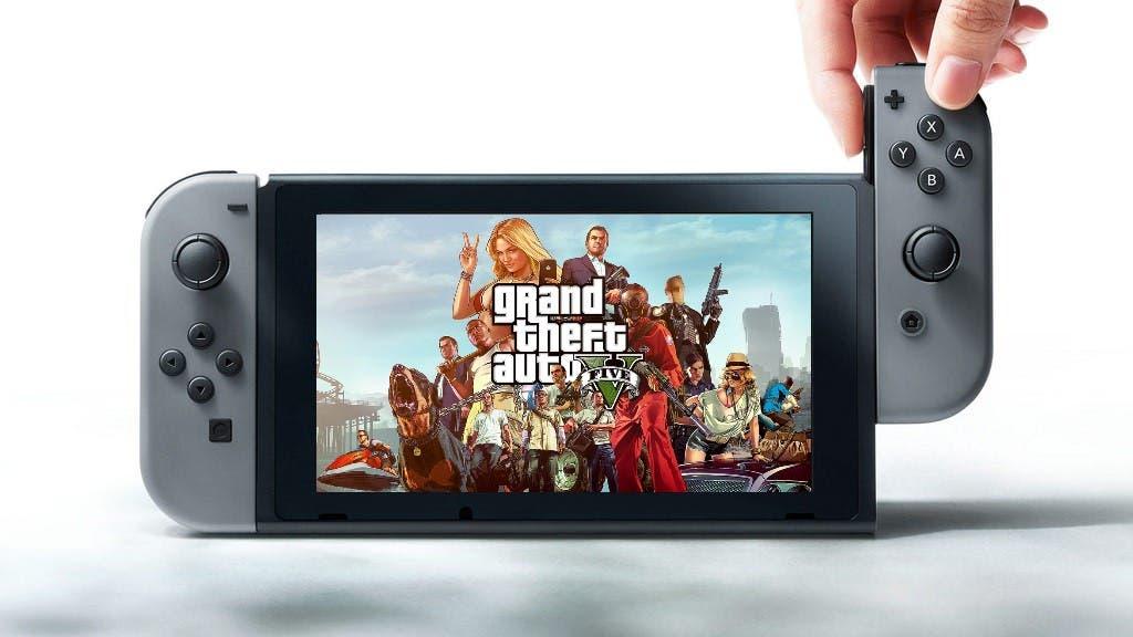 Gta V Podria Llegar A Nintendo Switch Proximamente