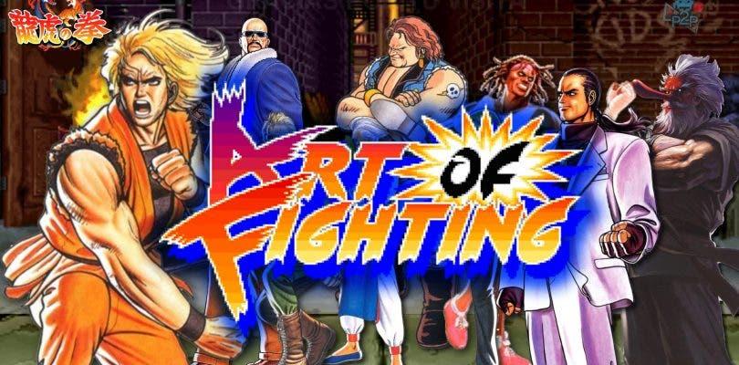 Art of Fighting llegará a la eShop de Nintendo Switch