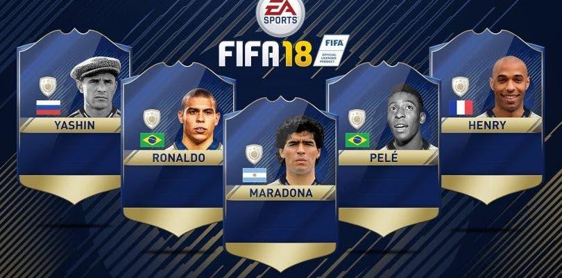 Mostrados nuevos Iconos para FIFA 18 Ultimate Team