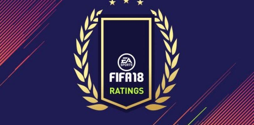 Valoraciones del 60 al 41 en el Top 100 de jugadores en FIFA 18
