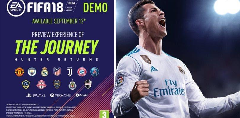 La demo de FIFA 18 llega hoy a PlayStation 4, Xbox One y PC