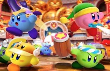 Se anuncia Kirby Battle Royale para Nintendo 3DS
