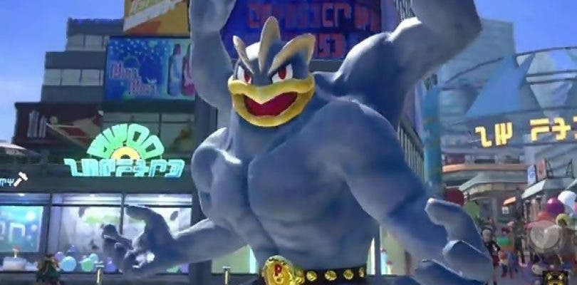 Machamp es el protagonista del nuevo vídeo de Pokkén Tournament DX