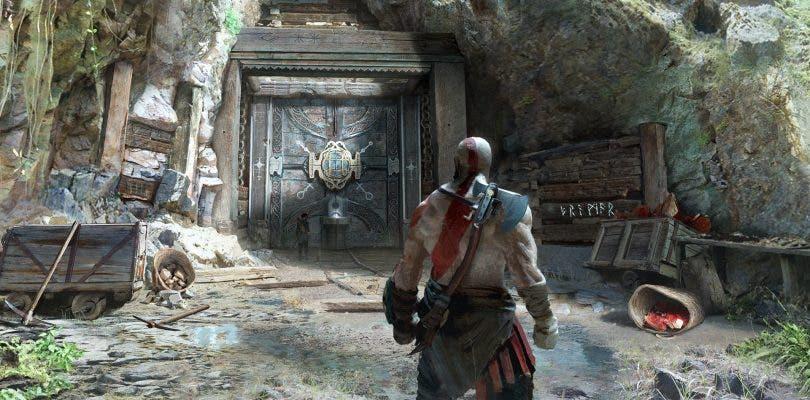 Se muestran imágenes de las Ruinas de Midgard en God of War