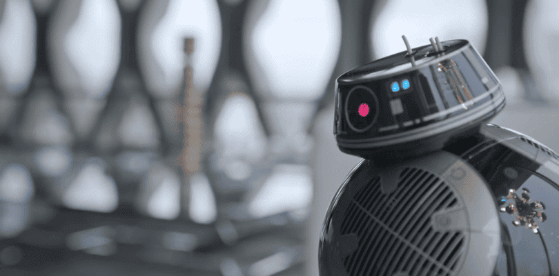 Así es BB9-E, el gemelo malvado de BB-8 en Star Wars: Los Últimos Jedi