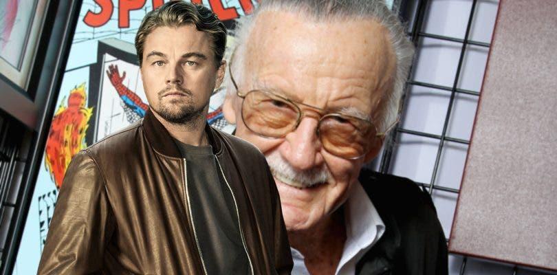 A DiCaprio le gustaría ser Stan Lee en un biopic del icono de Marvel