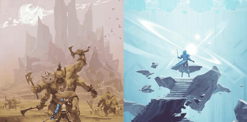 Observamos diversos artworks de un título cancelado de Valve
