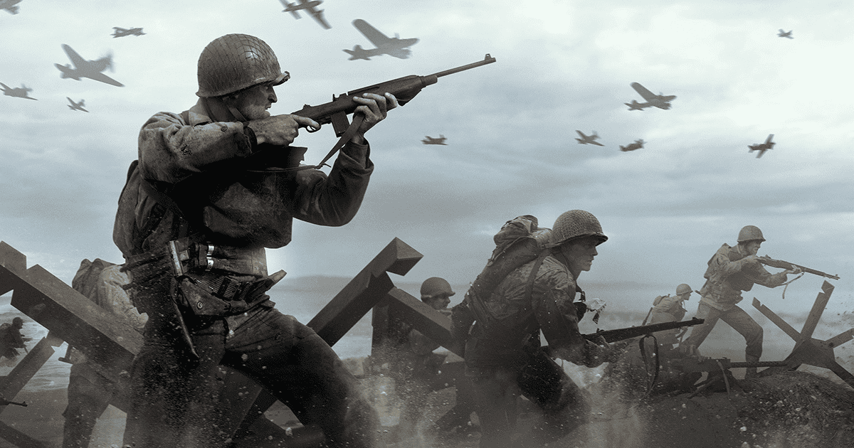 Call of Duty: WWII carteles