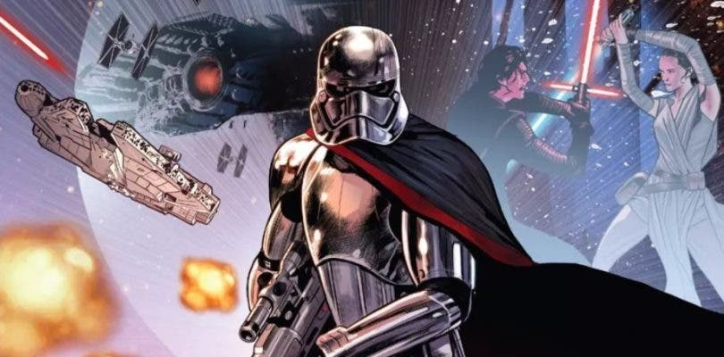 El nuevo cómic de Star Wars revela cómo escapó Phasma de Starkiller