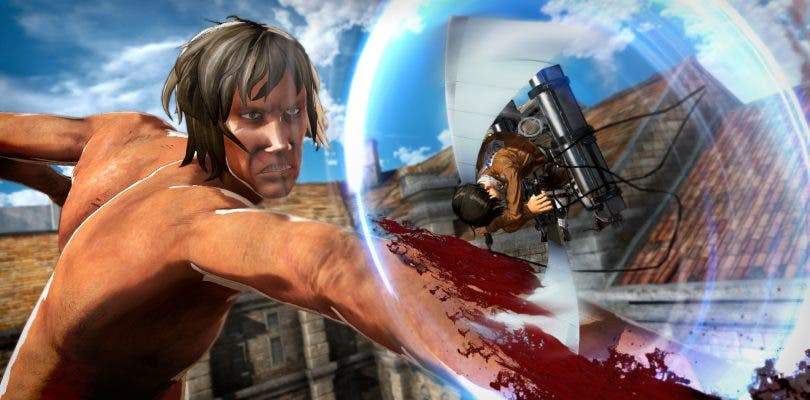 Koei Tecmo confirma el lanzamiento de Attack on Titan 2 en occidente