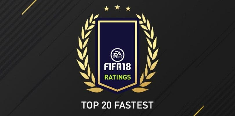 Estos son los 20 jugadores más rápidos de FIFA 18