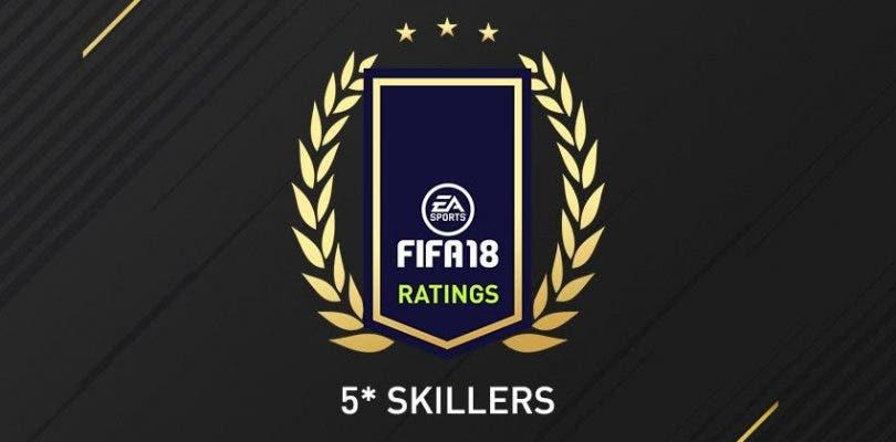 Estos son los jugadores de FIFA 18 con 5 estrellas en filigranas