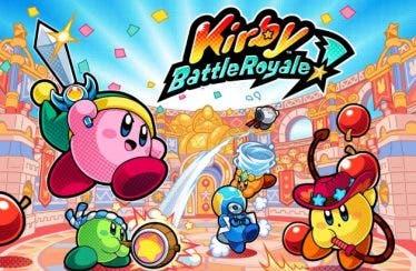 Nuevo vídeo de Kirby Battle Royale del modo de juego tiro a la bandera