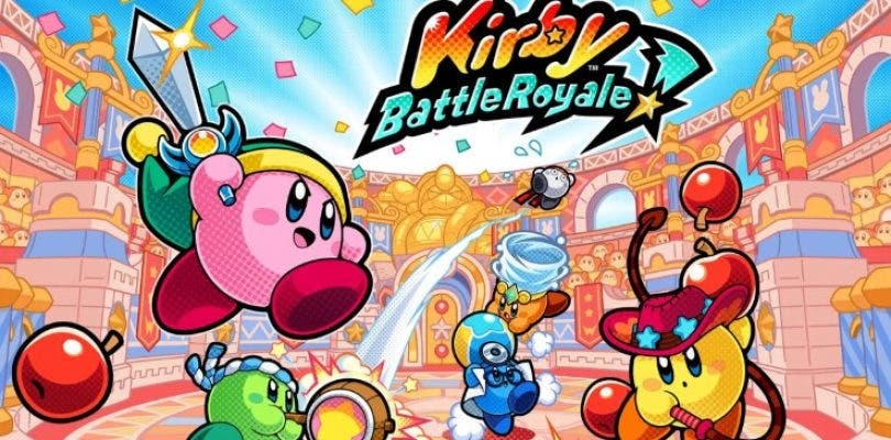 Kirby Battle Royale no tendrá efecto 3D