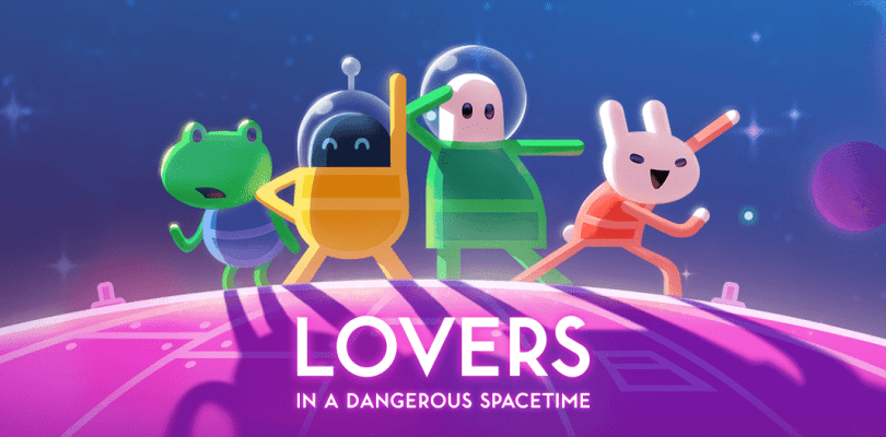 Crypt of the NecroDancer y Lovers in a Dangerous Spacetime, en Switch