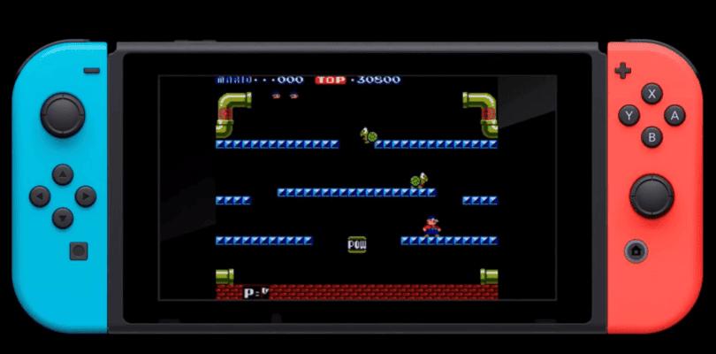 Mario Bros. junto a más juegos llegarán a Arcade Archives para Switch