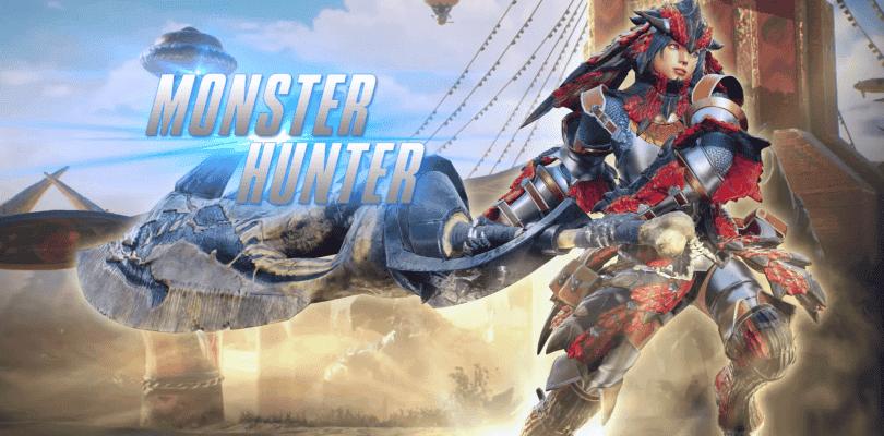 Monster Hunter aparece en el nuevo vídeo de Marvel vs. Capcom Infinite