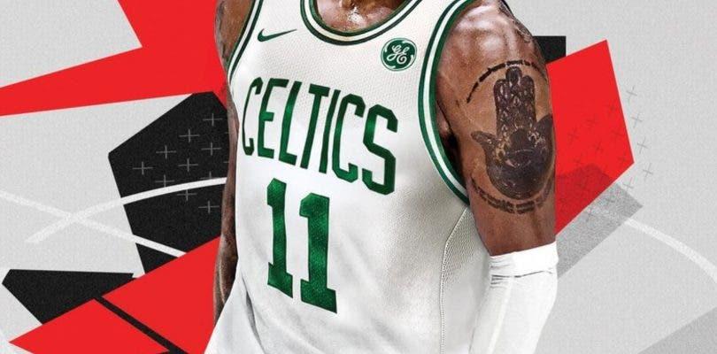 Esta es la nueva portada de NBA 2K18 con Kyrie Irving en los Celtics