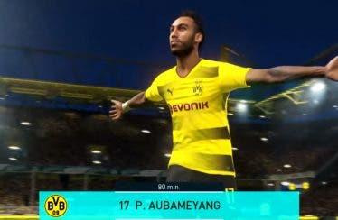 Reus y Aubameyang se retan en el tráiler de lanzamiento de PES 2018